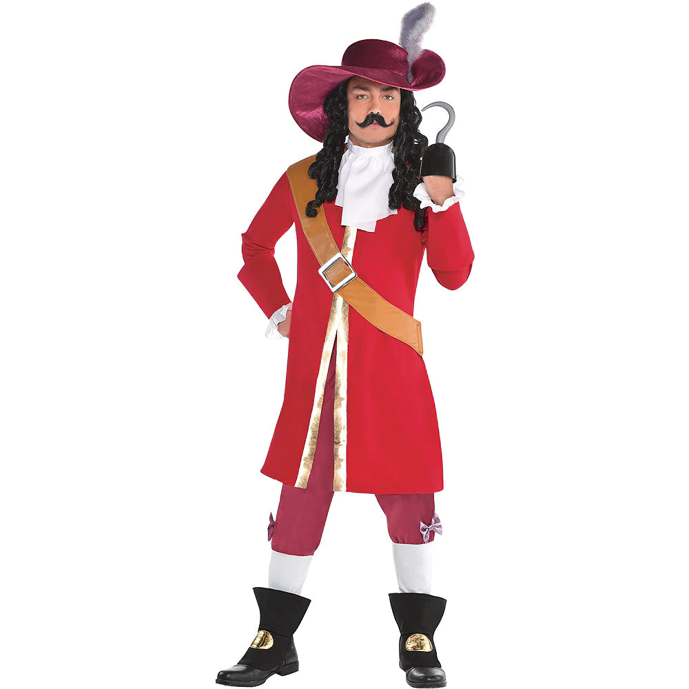 Mens Captain Hook Costume Peter Pan Captain Hook Costume Peter Pan Costumes Peter Pan Costume Kids