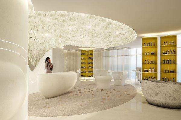 Esadore International Indoor Spa Spa Design Spa Reception