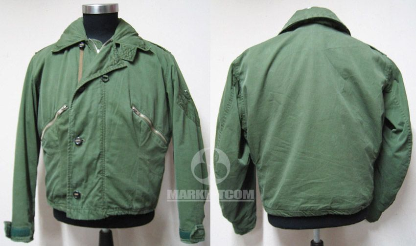 Royal Air force RAF UK MARK 3 COLD WEATHER GREEN poplin Flight ...