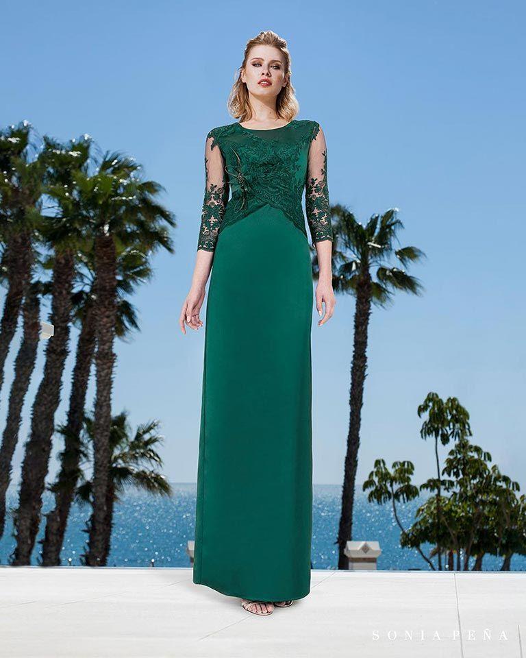 6942f99b7a Vestidos de fiesta 2019. Colección Primavera Verano 2019 Balcón del Mar. Sonia  Peña -