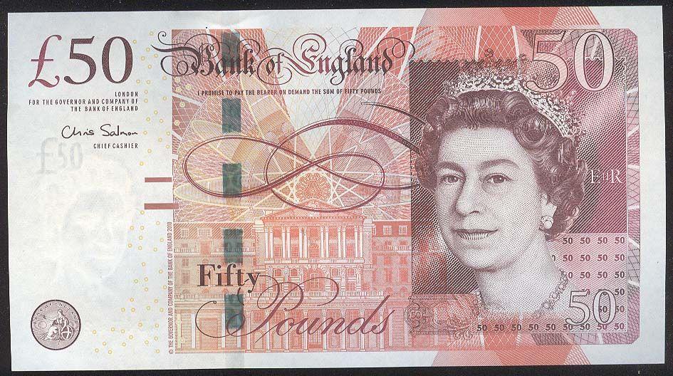 Billete 50 Libras Esterlina Buscar Con Google Pound Sterling Bank Notes Money Collection