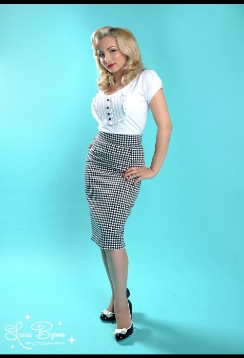 Pin Up Girl Clothing Com Houndstooth & Pinup 3 I Love Pinupgirlclothing I Would Dress