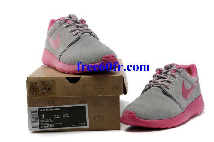 Ddc6634 Nike Roshe Run Hyp Femme Rose Chaussures Gris Rose Femme Femme Chaussures b69a49