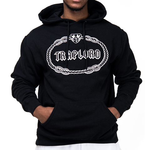 Black Classic Traplord Hoodie | ASAP Ferg | Trap Lord ...