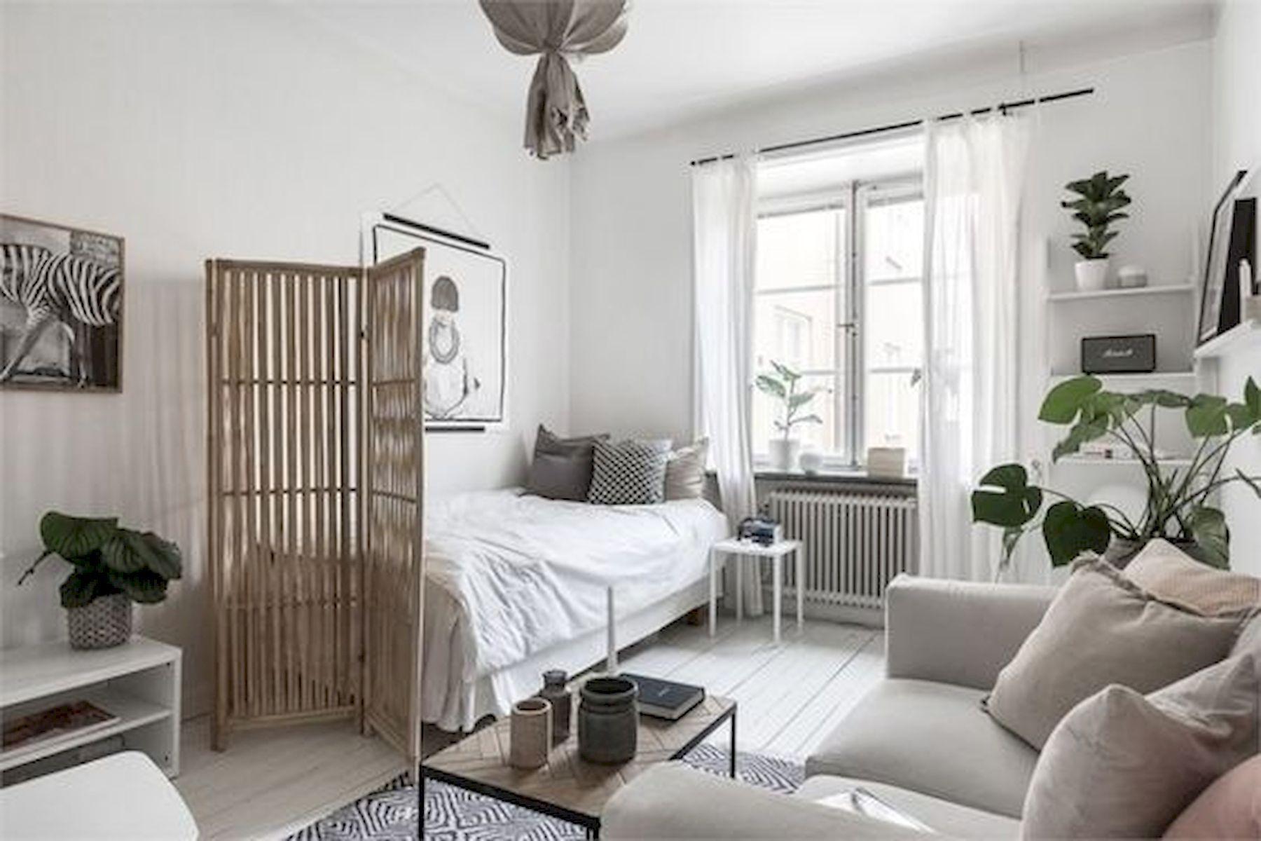 Épinglé par Klaudinf sur Room | Idée déco studio, Deco appartement et Deco studio