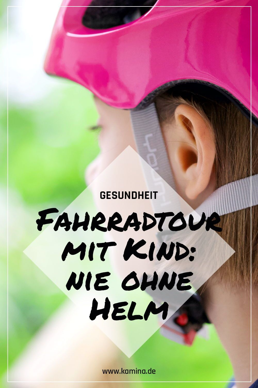 Fahrradtour Mit Kind Bitte Nie Ohne Helm Vorbild Sein Ist Nicht