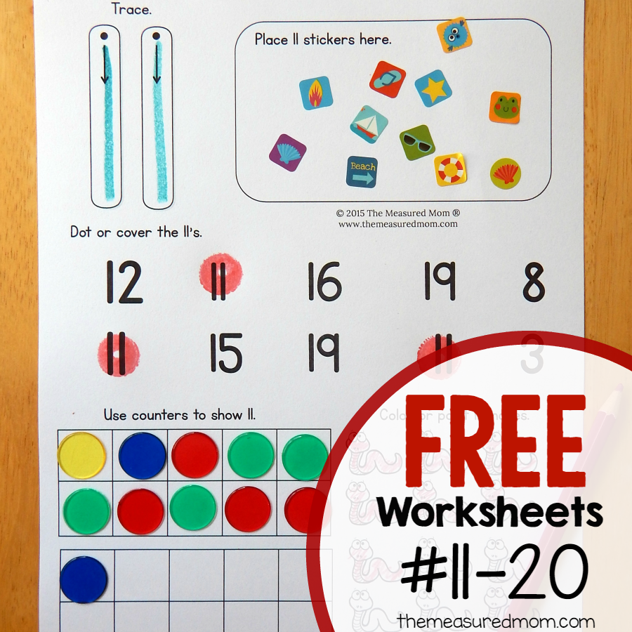 Free number worksheets 1-10 | Number worksheets, Worksheets and Number