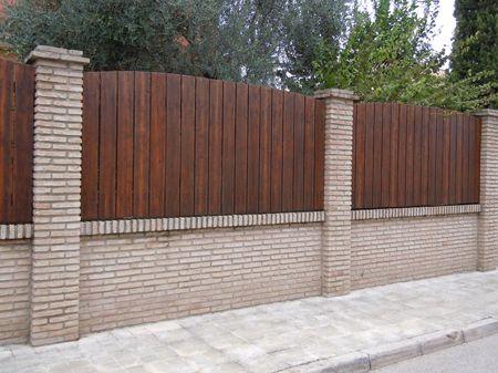 Fachada de chalet vallado pinterest driveways - Fachadas de chalets ...
