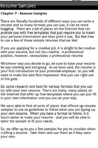 Cover Letter - get a range of Cover Letter Examples, CV Templates - killer resume samples
