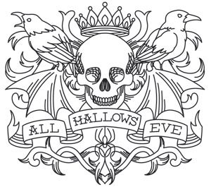 Celebrate All Hallows' Eve in gorgeous gothic style with