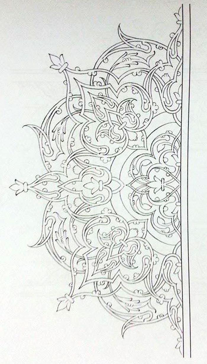 Rumi Kompozisyon Kompozisyon Nahtdesenleri Rumi Pattern Art Islamic Art Pattern Islamic Motifs