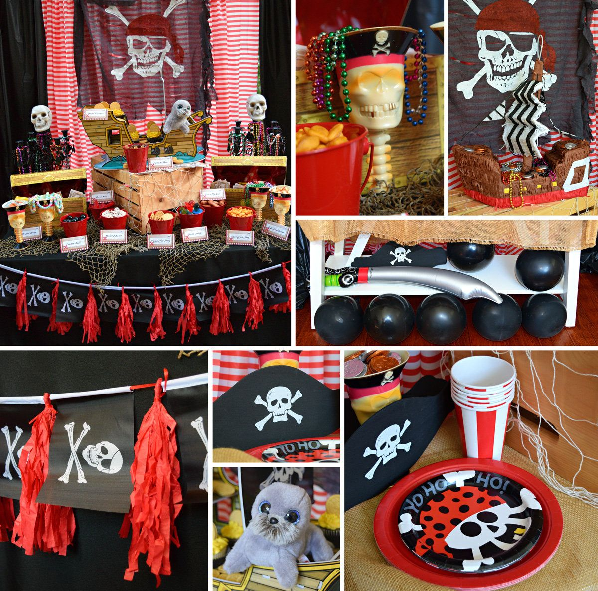 Pirate Party Decorations  Pirate party decorations, Pirate