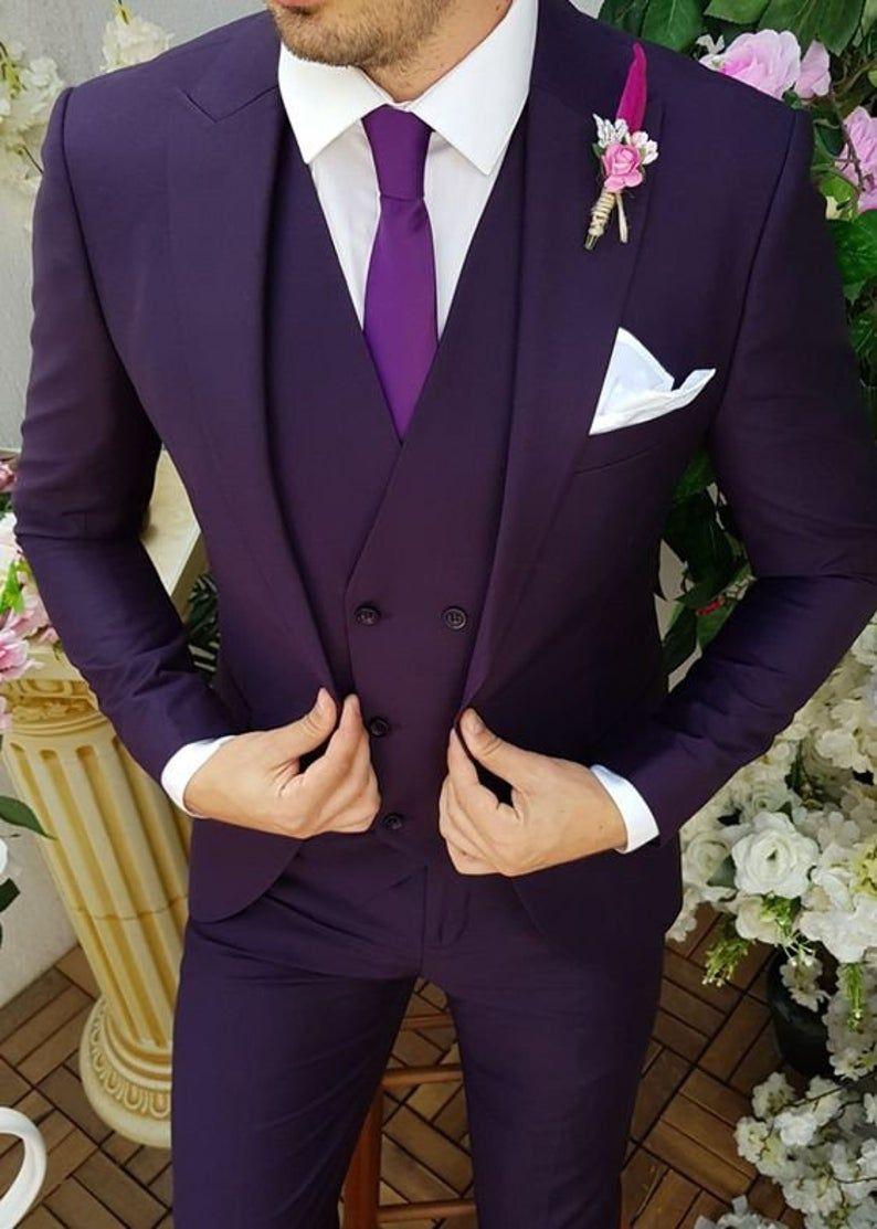 Three Piece Suit 3pic Coat Pant Design 2020