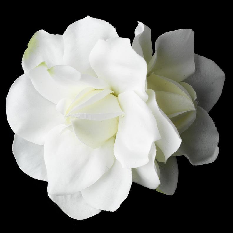 Gardenia Flower Bridal Hair Flower Clip Bridal Hair Flowers Floral Bridal Clip