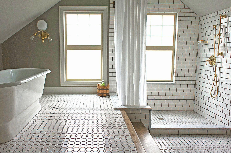 Two Level Bathroom By Kaemingk Design Attic Bathroom Home House Bathroom
