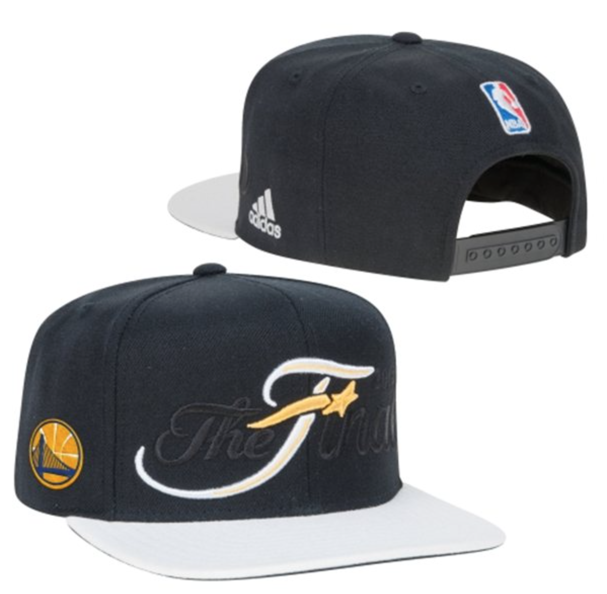 e8a86b53879 Golden State Warriors adidas 2015 Western Conference Champions adjustable  Hat as worn by the players on court!