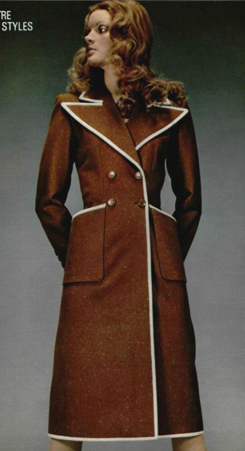 ac48b77601 1971 - Yves Saint Laurent Couture collection | #HH_Icons
