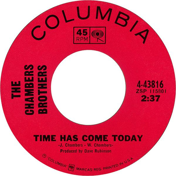 Time Has Come Today - The Chambers Brothers (1968)