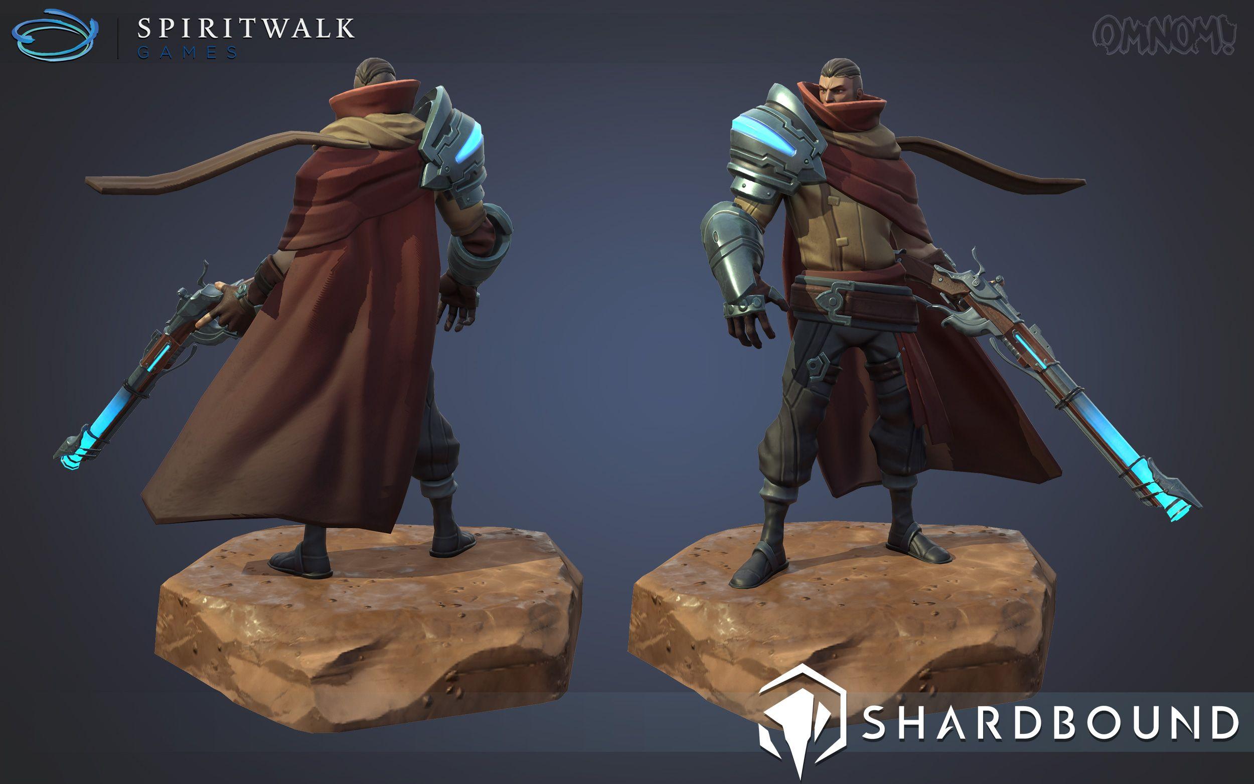 Game Character Design Tips : Image: http: www.omnomworkshop.com portfolio sb deadeye pose01.jpg