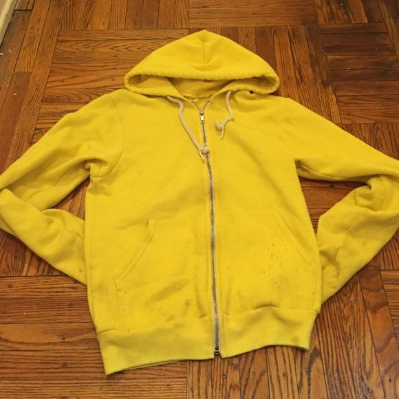 Yellow American Apparel Hoodie Very soft American Apparel Tops Sweatshirts & Hoodies