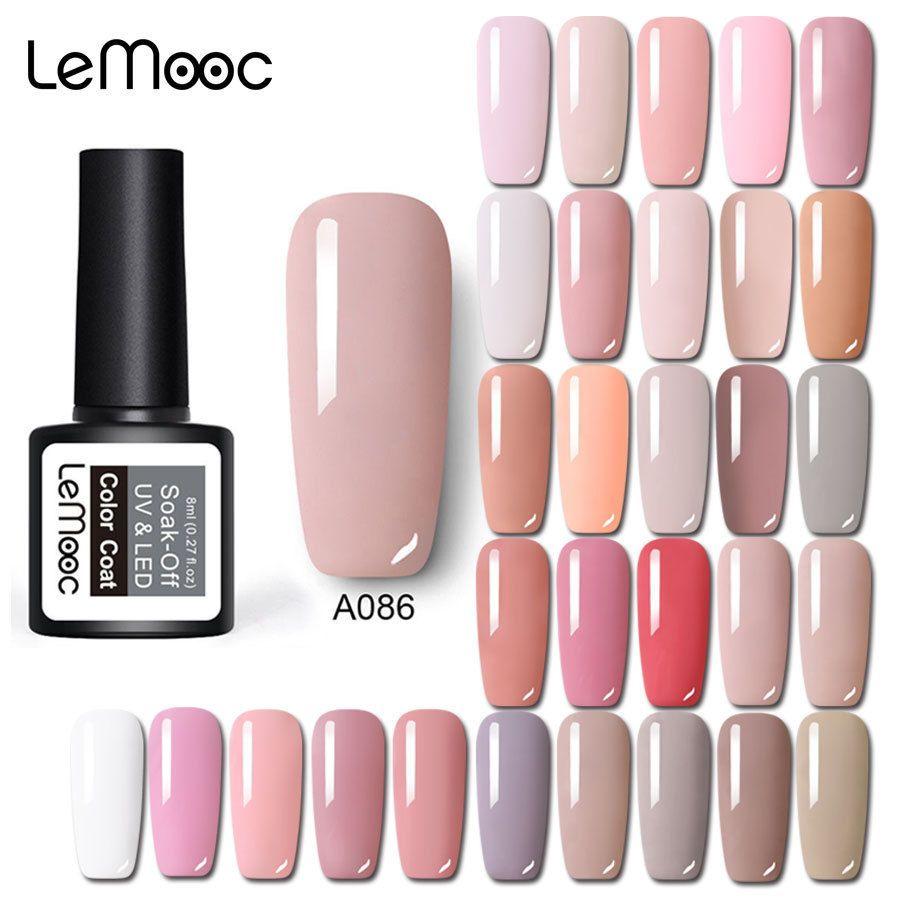 Charm Chica Gel Nail Polish UV 6ml Pink Nude Color Gel