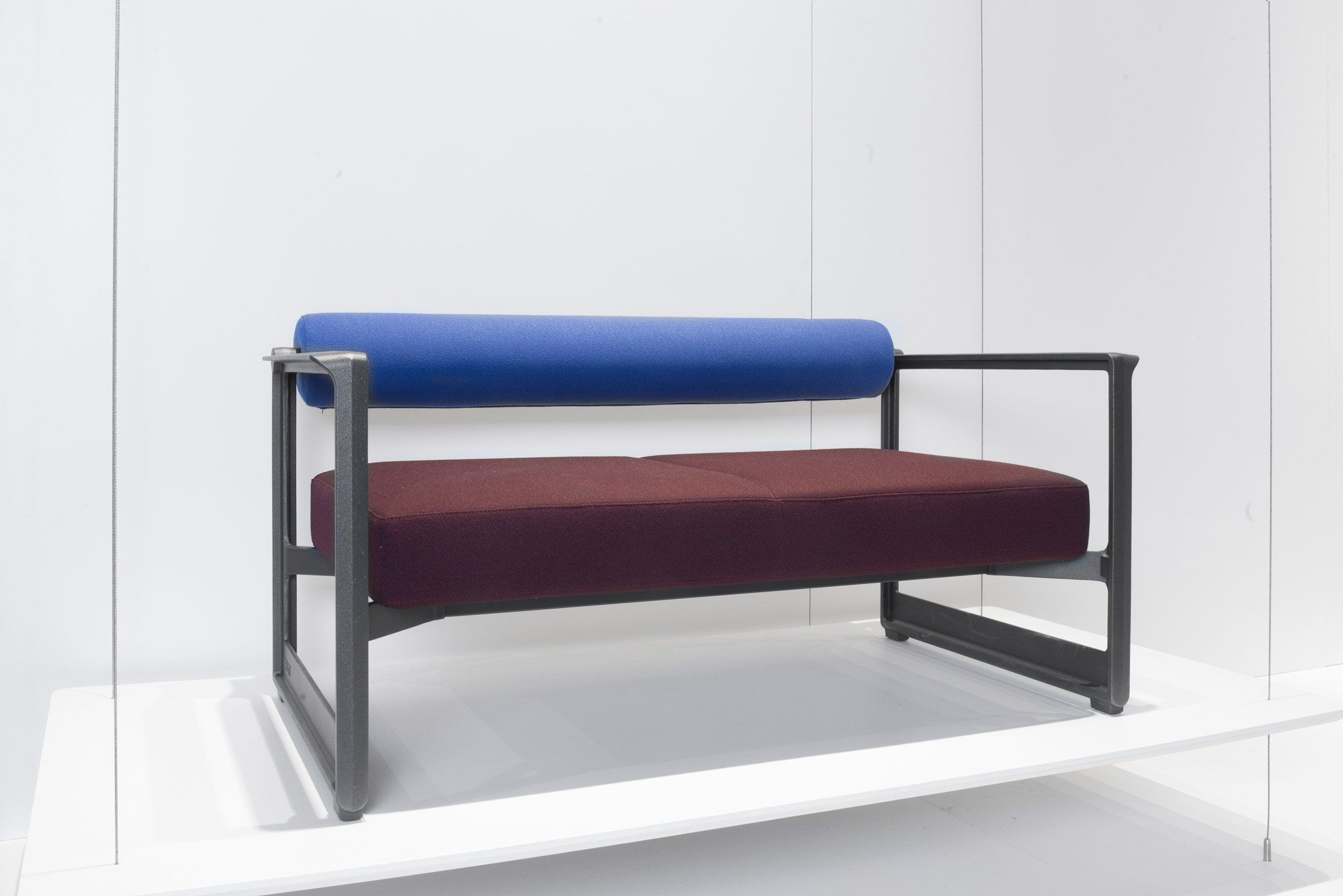 German designer Konstantin Grcic has created a sofa with machinery ...
