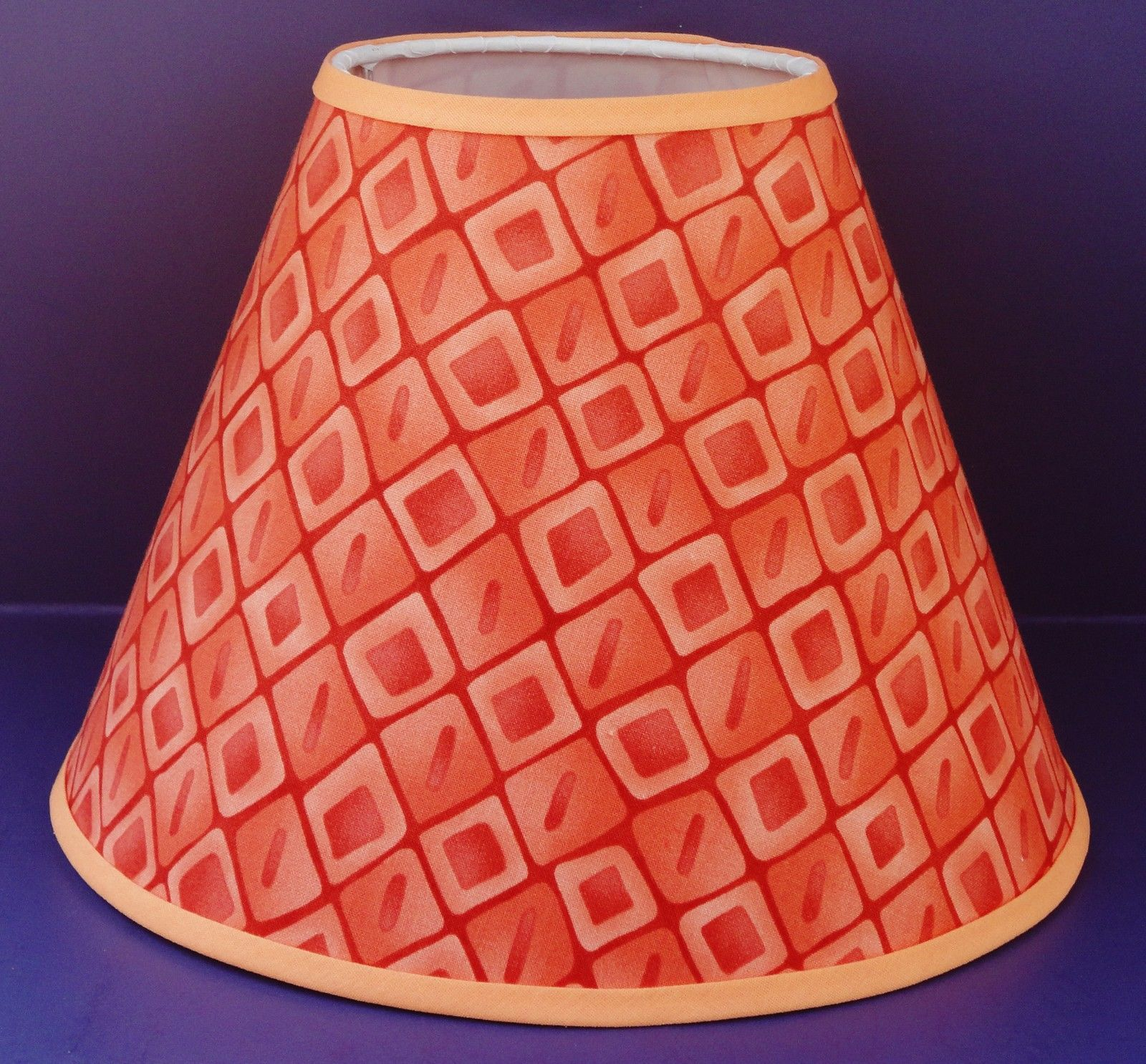 Lamp: Massive Lighting Metal Hanging Pendant Lampshade Light Orange And  Black from The Orange Lamp