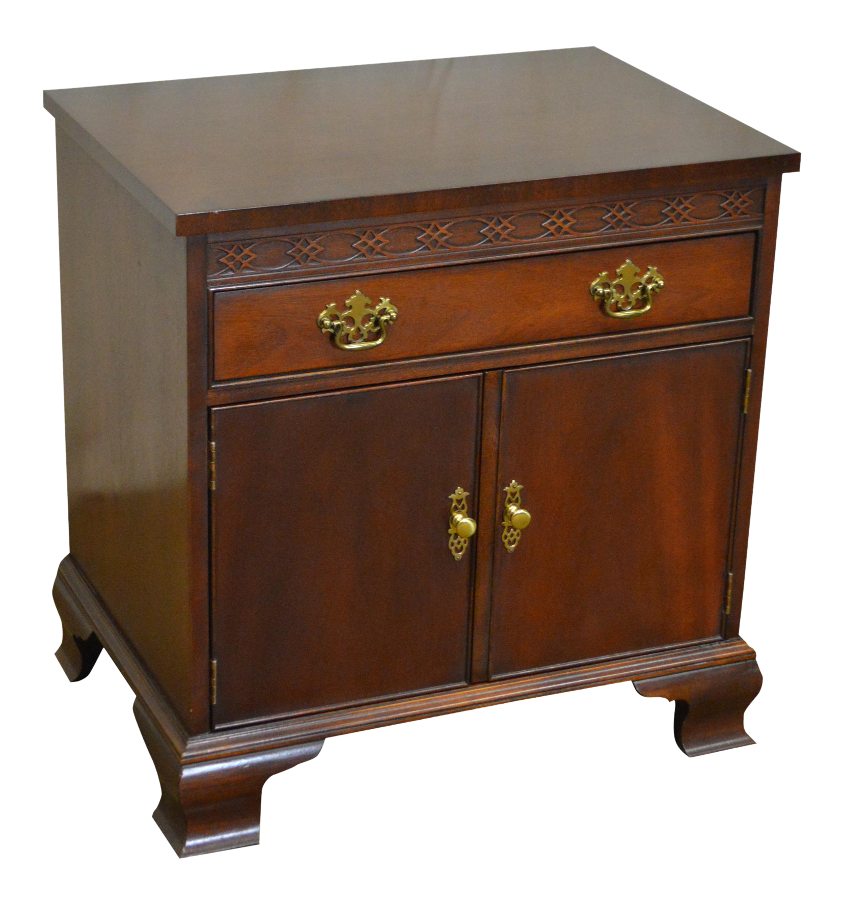 STORE ITEM #: 16028-ax Baker Chippendale Style Mahogany