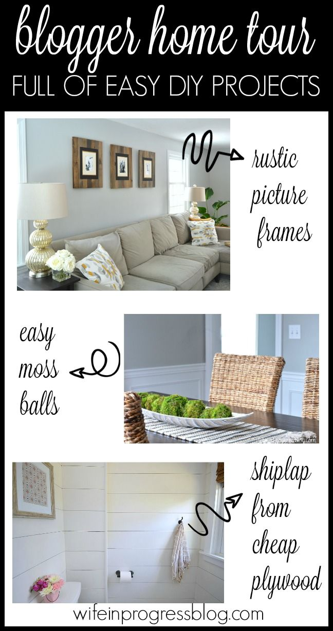 Home Tour | Best of Jenna Kate | Pinterest | Simple diy, Tutorials ...