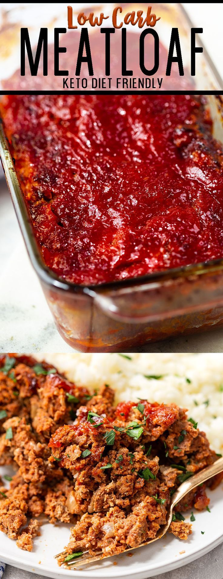 Keto Low Carb Meatloaf Recipe Low Carb Meatloaf Low Carb Recipes Keto
