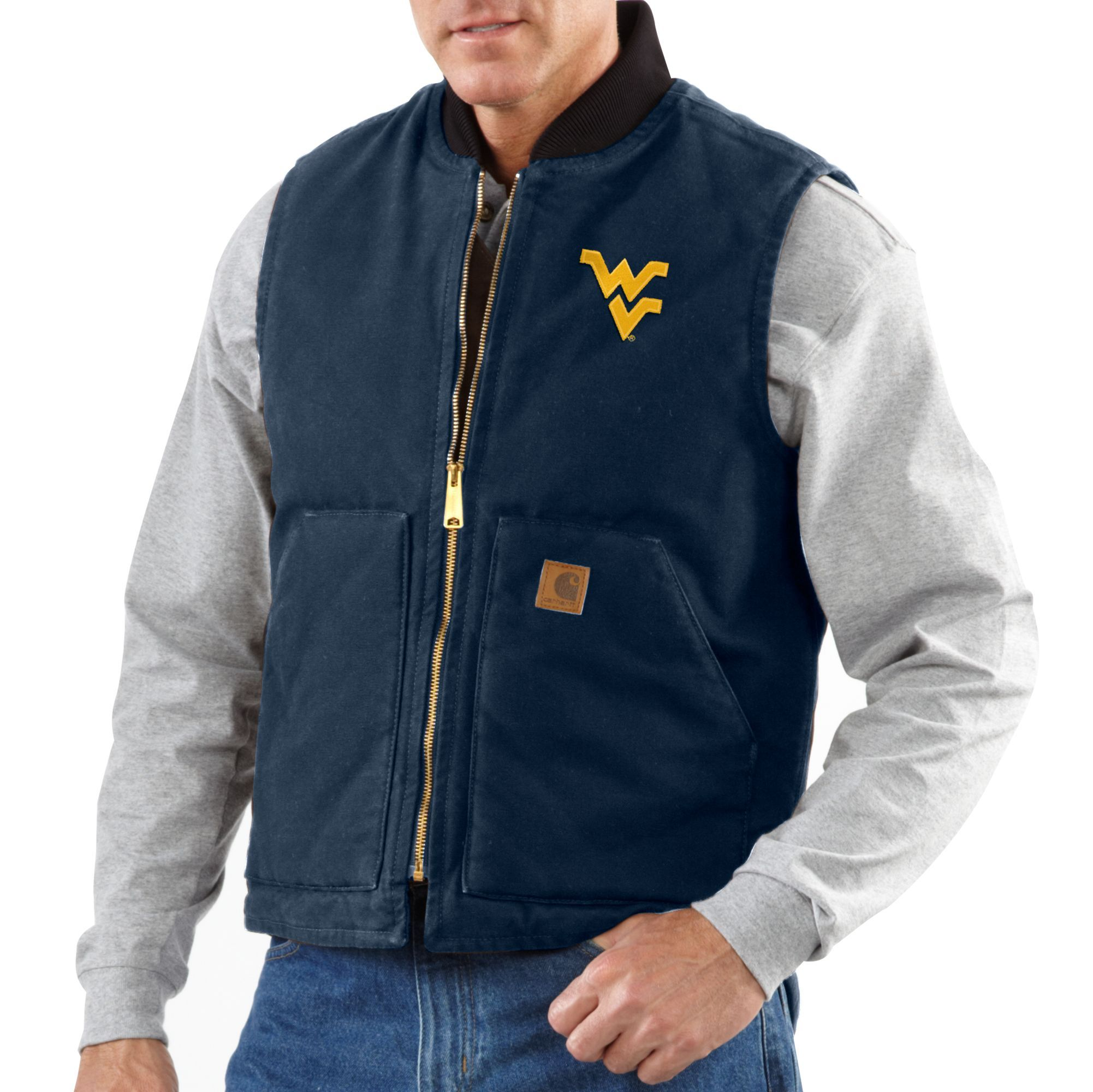 Check Out Carhartt S New Wvu Collection For Gift Ideas For The Men On Your Shopping List Carhartt Mens Carhartt Carhartt Vest