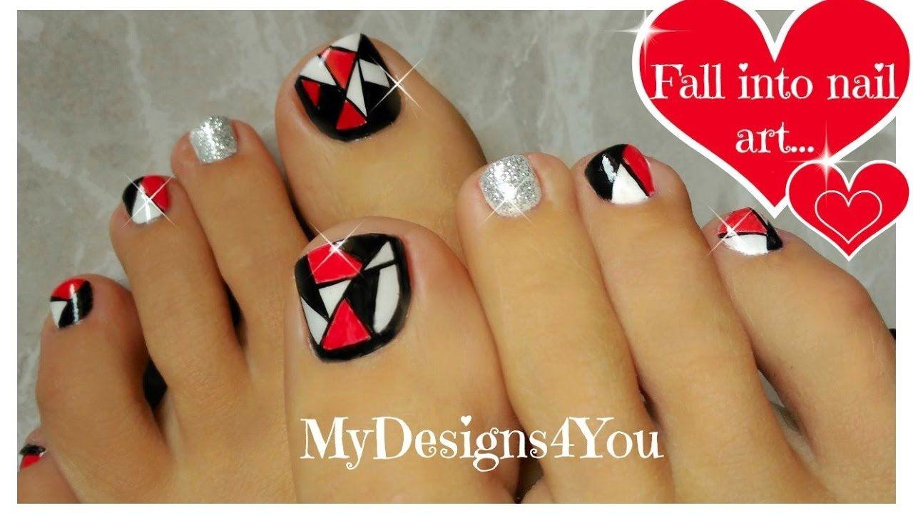 Retro Mosaic Toenail Art Design ♥ | Re-Pin Nail Exchange ...