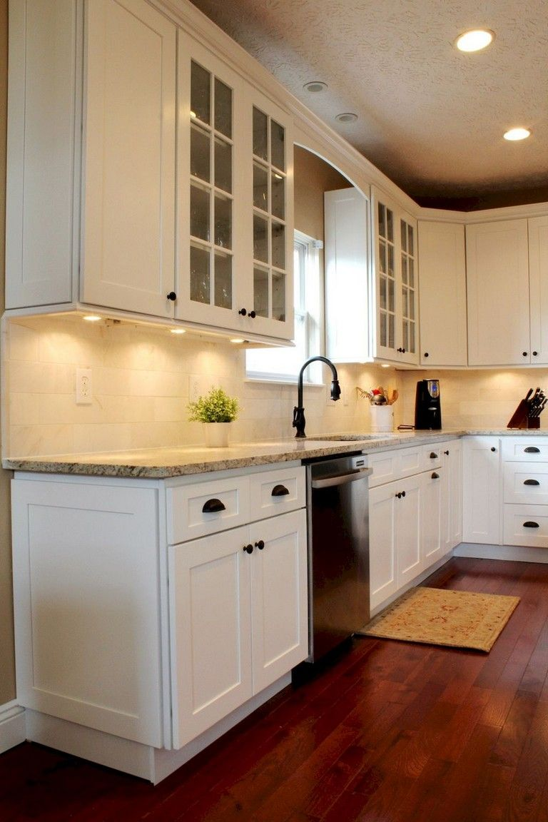 19+ Amazing White Shaker Cabinets Kitchen Ideas #whiteshakercabinets