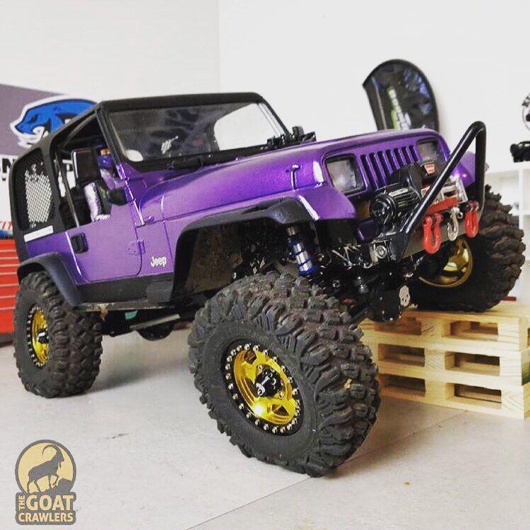 Purple Featuring Snakepitrc De Tag Us Goatcrawlers Follow Rc Cars Rc Rock Crawler Best Rc Cars