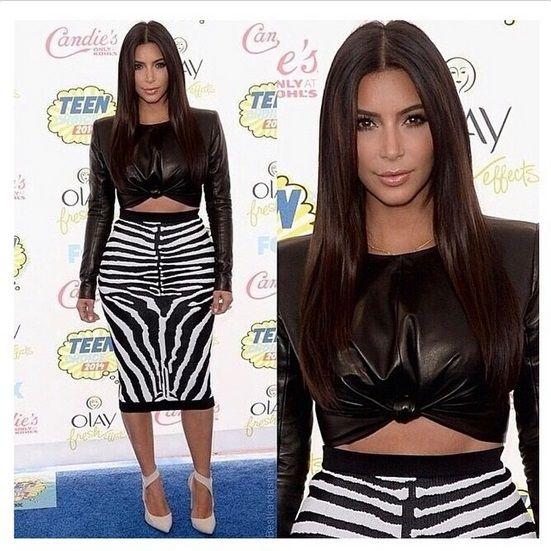 Celebrity women fashion instagram - Kim Kardshian