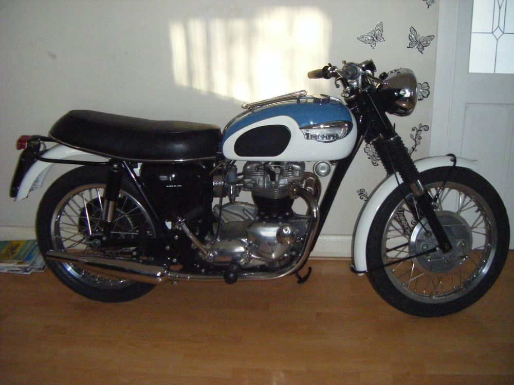 Ebay Triumph Tr6p Trophy 1968 Classic Matching Numbers U K Bike