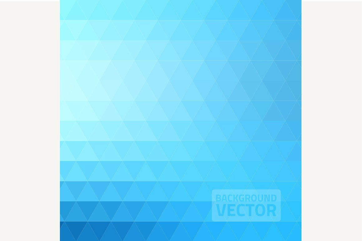 Abstract Blue Triangle Background Triangle Background Abstract