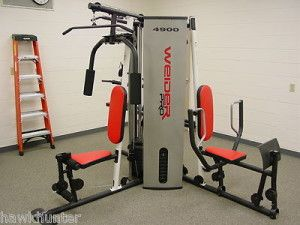 Weider multi station weight stack home gym high quality no