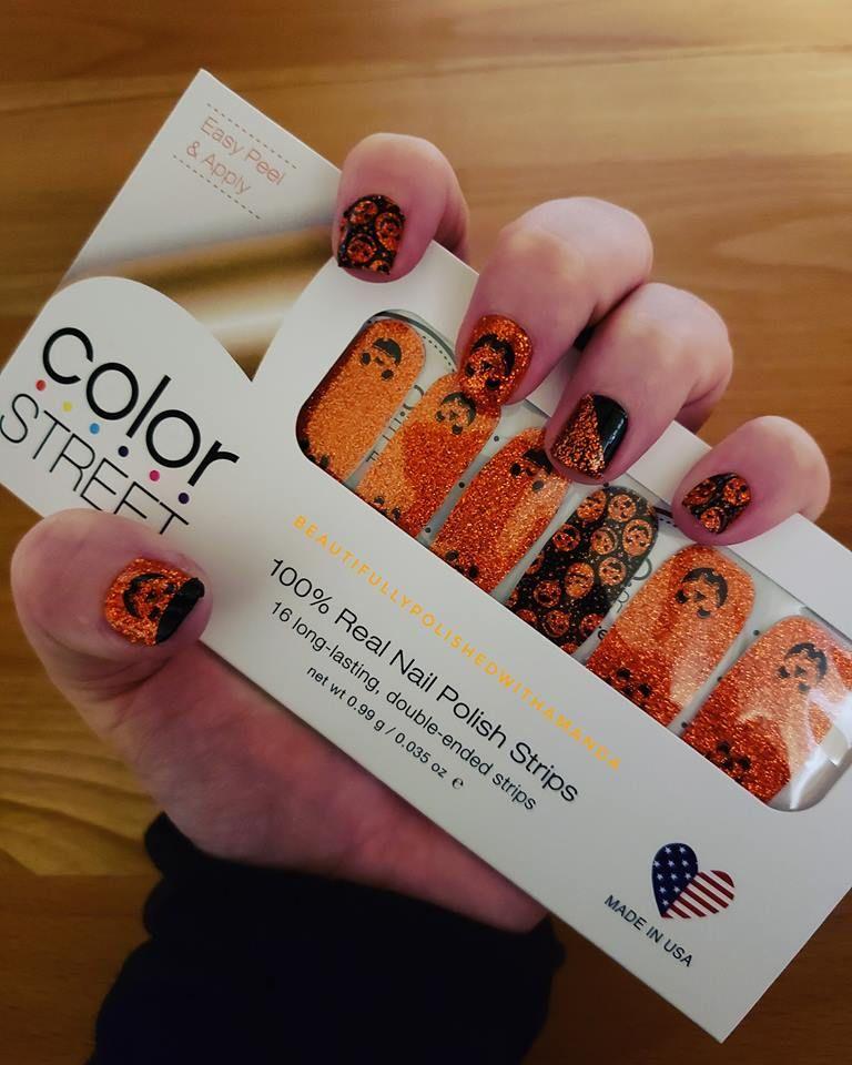 Halloween Nail Polish Ideas - Oh My Gourd! - - Color ...