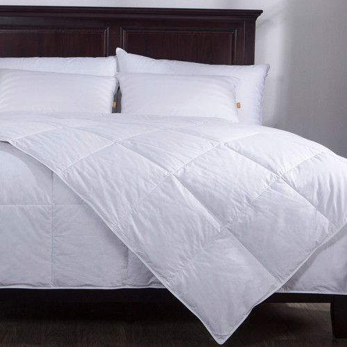 Found It At Wayfair Lightweight Down Comforter Insert White