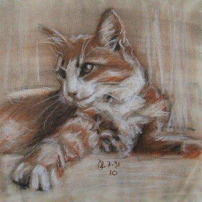 4aaf015180cd9db066bd2779268b7a1b » Famous Conte Crayon Drawings
