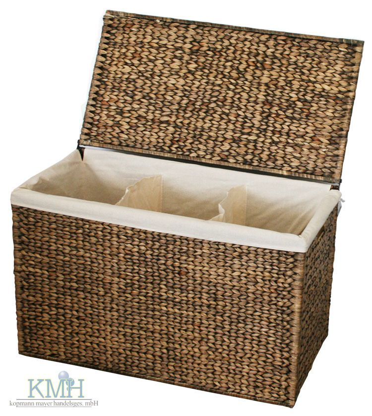 Kmh® Wäschesortierer Wäschekorb Wäschebox Wäschebehälter