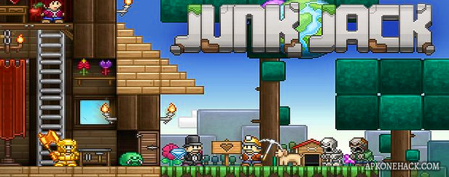 Junk Jack is an adventure game for android Download latest version