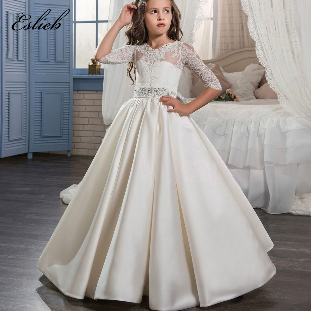 Cheap girls ball gowns, Buy Quality beaded communion dresses ...