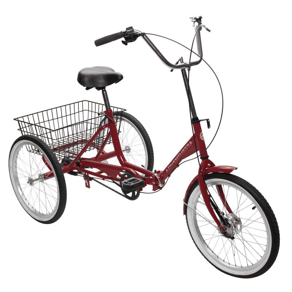 Three Wheel Folding Bike