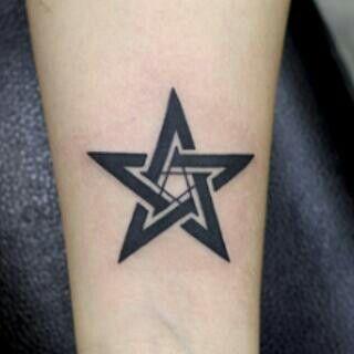 Pentacle Tattoo Tattoo Reference Tattoos Pentacle Tattoo
