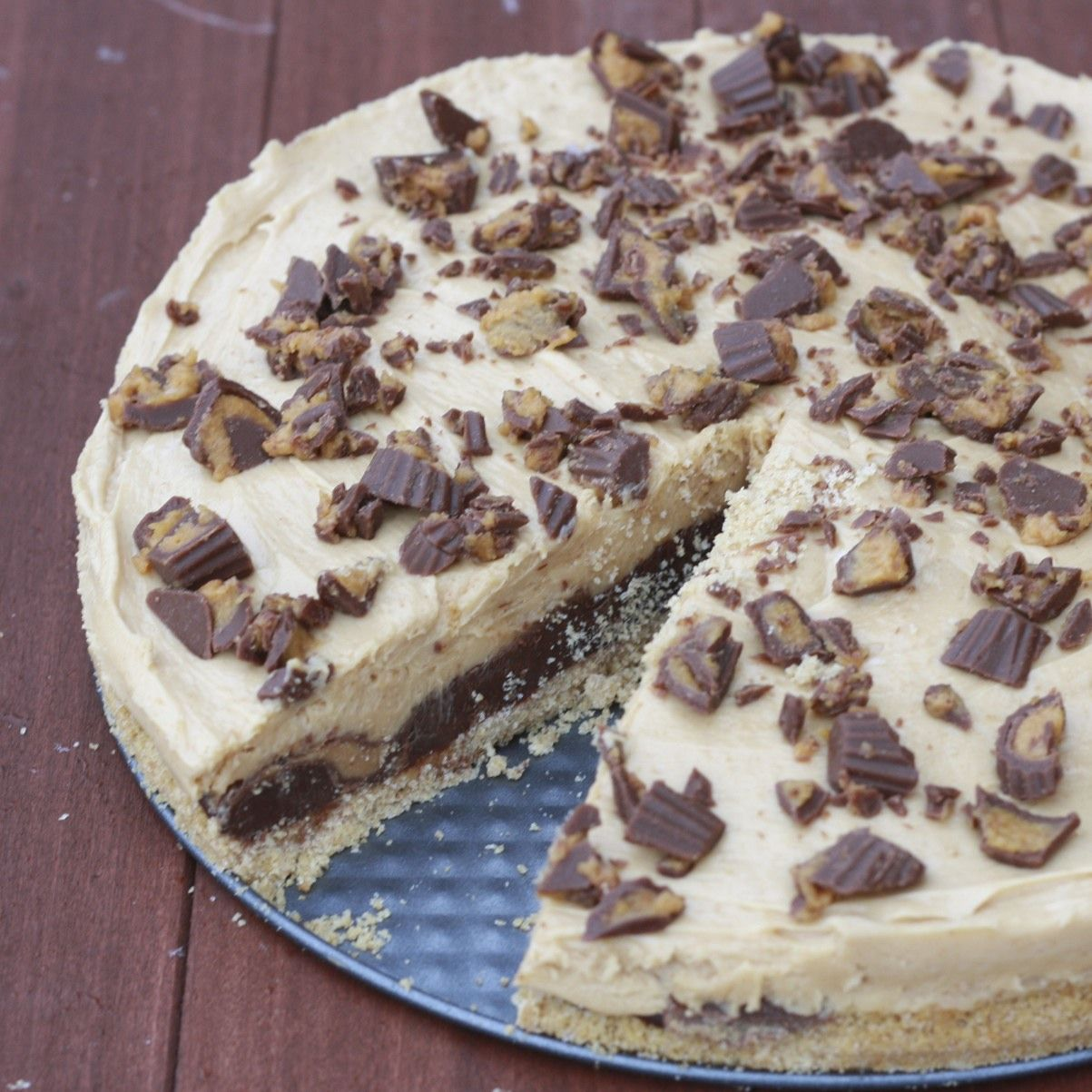 The Sweets Life: Reese's Fudge Pie