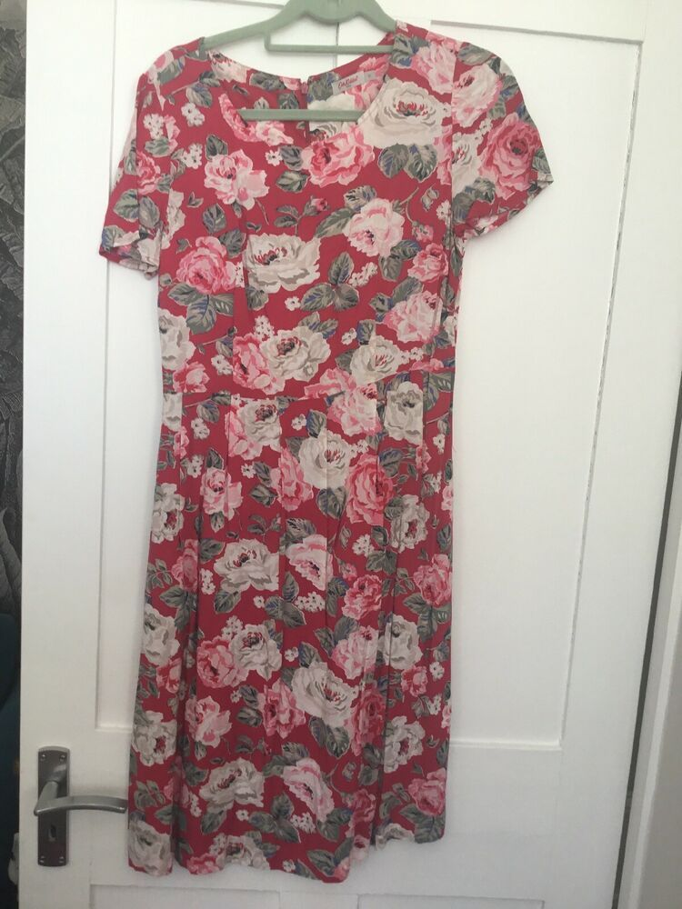 Cath Kidston Floral Tea Shift Dress Size 10 Fashion