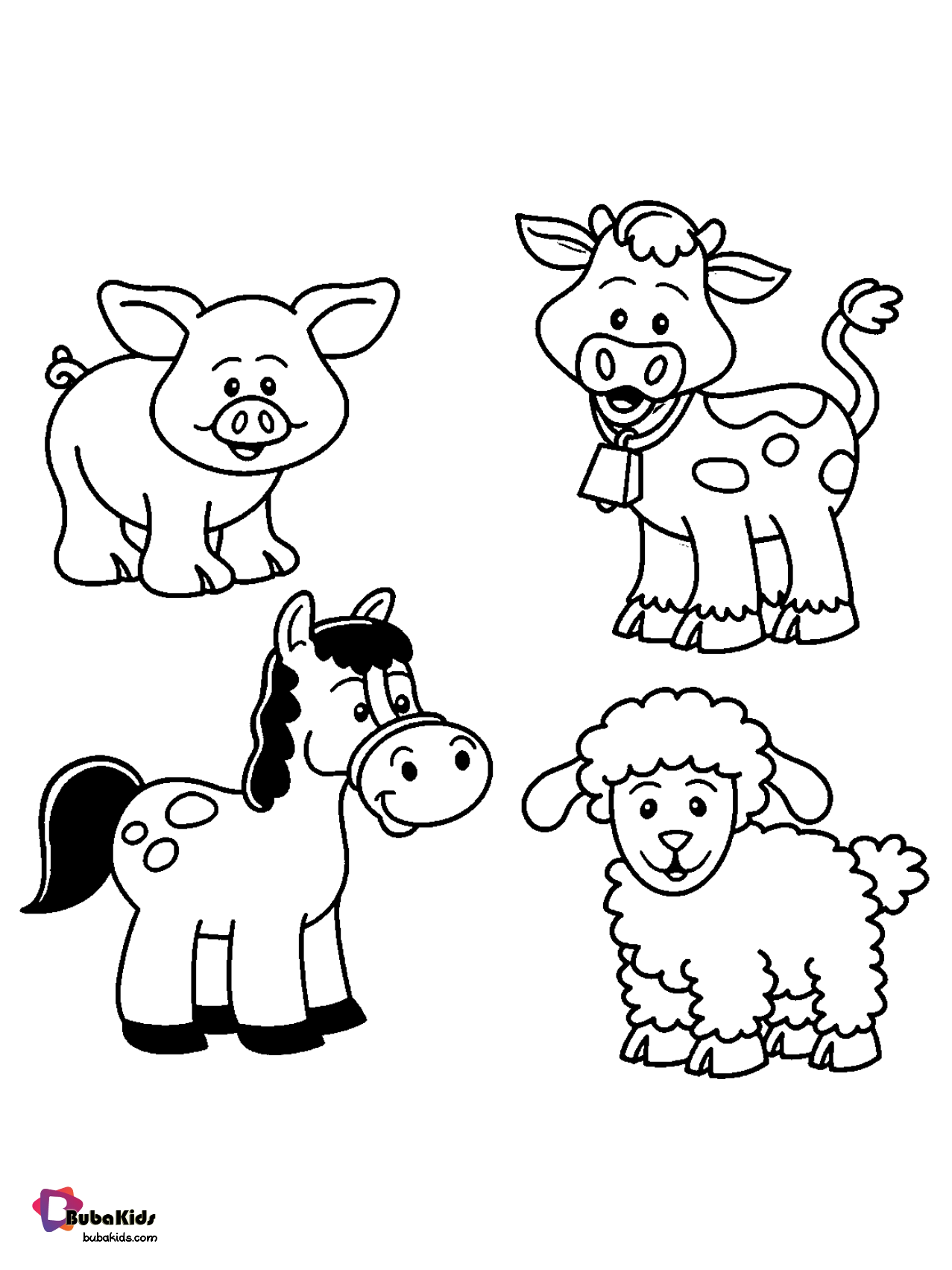 Farm Animals Coloring Pages Collection Of Animal Coloring Pages For Teenage Printab Zoo Animal Coloring Pages Farm Animal Coloring Pages Animal Coloring Books