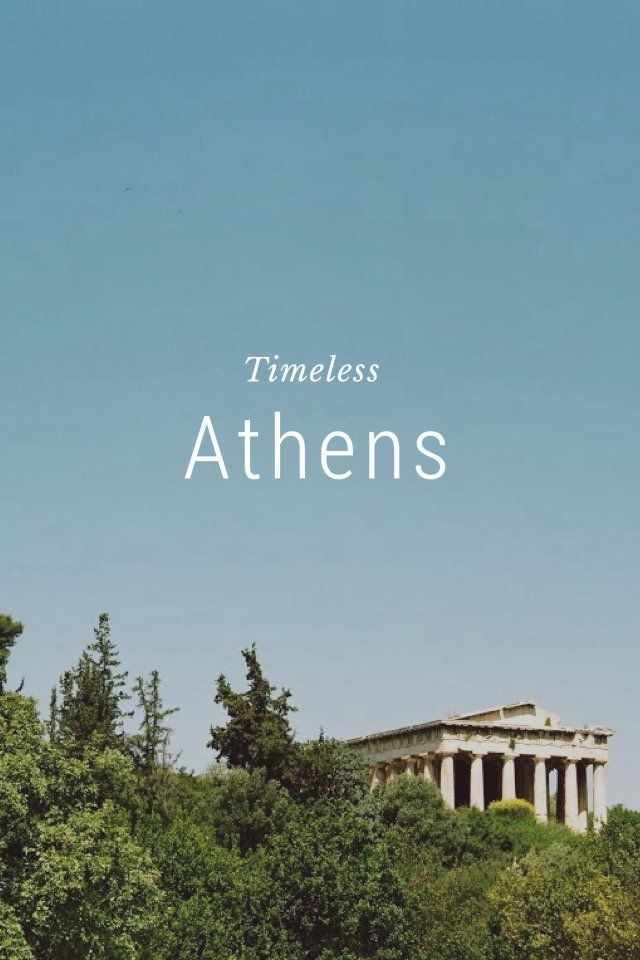 Athens Timeless Greece is in the news a lot at the moment because of its economic crisis. The birthplace of democracy and Western philosophical thought has weathered many crises in its long history—the reminders of which are all around, as I saw on a recent trip to